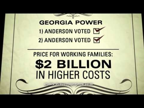 """""""Dine"""" from House Majority PAC opposes Lee Anderson, the Republican candidate for U.S. House in Georgia's 12th District. 10/30/12"""