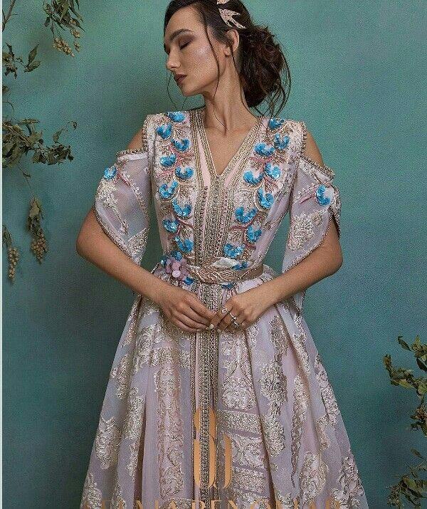 كولكشن قفطان للطلب حياكم واتس اب 00212699025005 قفطان الامارات تاجرة الشرقية الرياض فاشنيستا السعودية W Moroccan Dress Moroccan Clothing Caftan Dress