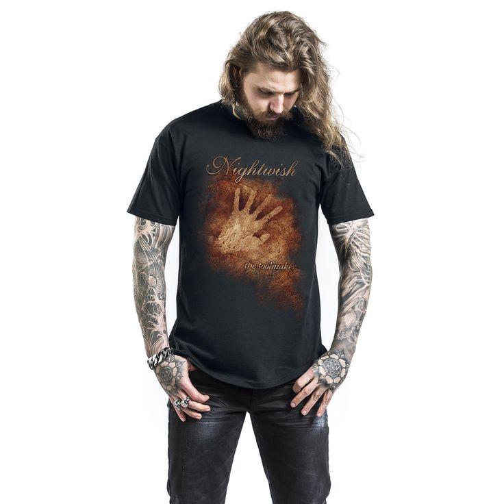 "Classica T-Shirt uomo nera ""The Toolmaker"" dei #Nightwish."