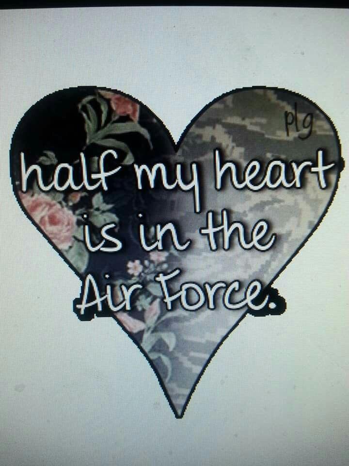 Half my heart...