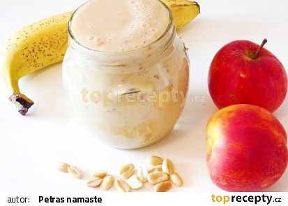 Smoothie s jablkem a nektarinkou recept - TopRecepty.cz