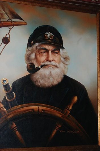"A life at sea is the life for me!  ""Old Sea Captain"""