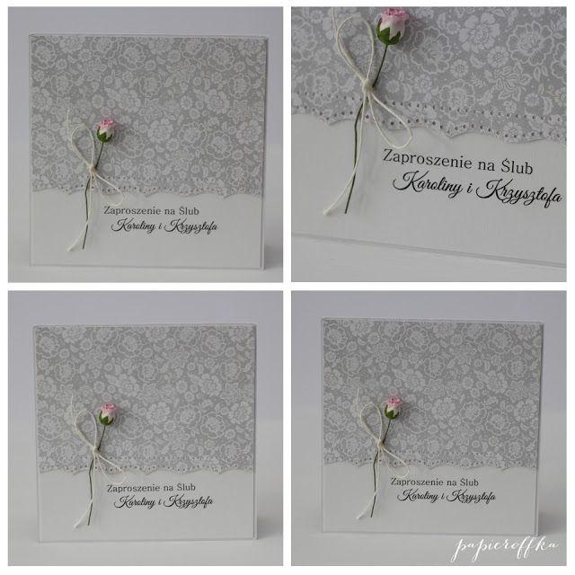 papieroffka zaproszenia na ślub