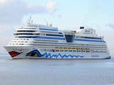 Zehntes Schiff der Kussmundflotte: Am 16. März wird die 'Aida Stella' in Warnemünde getauft. Foto: Aida Cruises