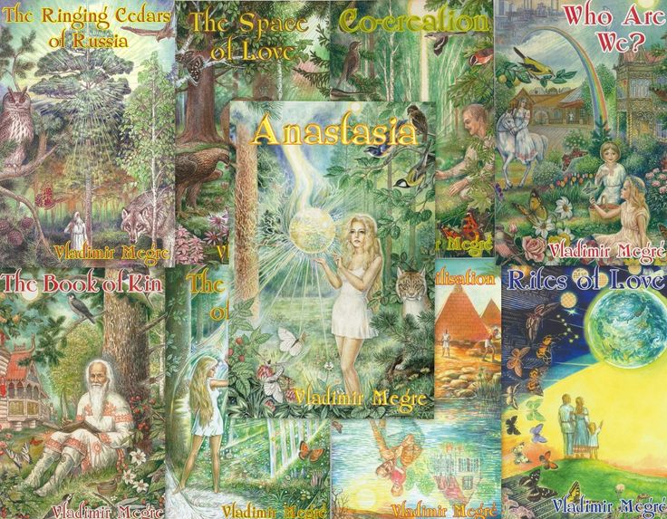Anastasia-reeks van vladimir megre; over de perceptieverruimende levensvisie van Anastasia