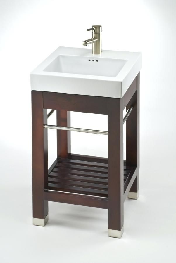 18 Depth Bathroom Vanity Narrow Vanities And Cabinets With Free Shipping Inch Single Sink Square Console White