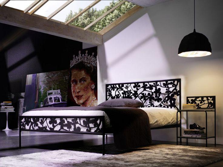 Cosatto  #mobiliriccelli #riccelli #arredamento #mobili #arredo #furniture #bedroom #bed #camera #letto #indoor #interior #design #casa #home #madeinitaly #cameradaletto #cosatto #romantico #flowers #floral #fiori #ferrobattuto #woundediron