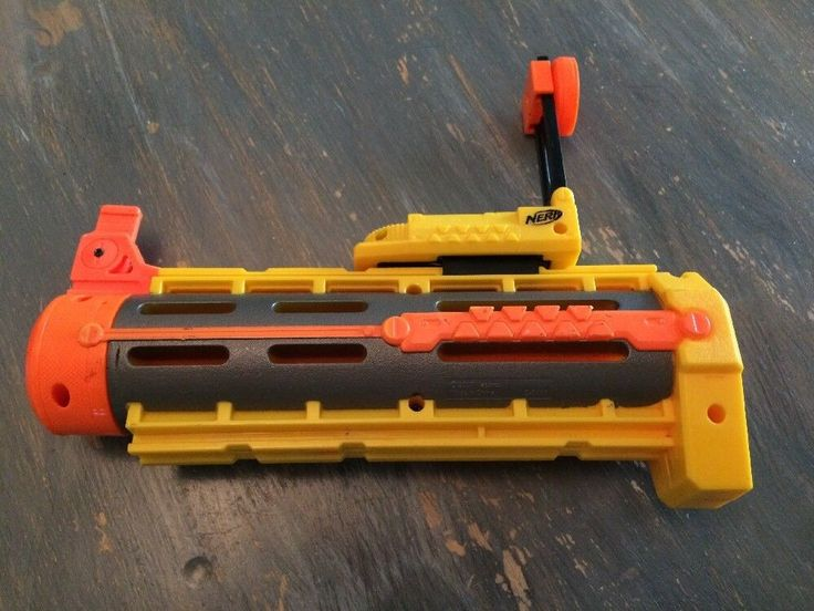 Nerf N-Strike Recon CS-6 Front Barrel Attachment Extension w/ Sight Attachment
