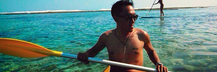 Canoe-ing, Finns Beach Club - Bali