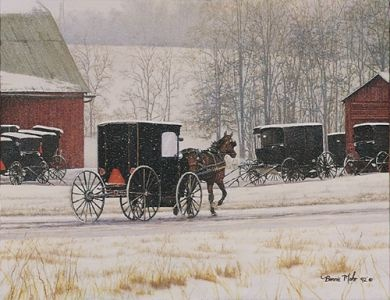Headinu0027 Home Litho By Bonnie Mohr · Amish CountryCountry LifeAmish RecipesFramed  PrintsArt ...