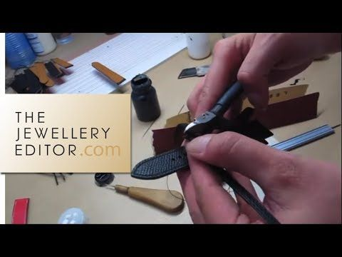 Hermès watches: how the perfect leather watch strap is made - YouTube