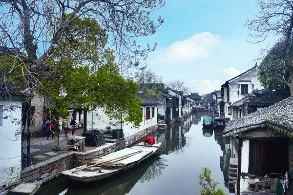 "Zhouzhuang (周庄) is the most popular of the region's so-called ""water villages""."