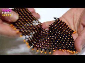 Şık Ve Çarpıcı Kristal Boncuklu bileklik Beaded Bracelet - YouTube