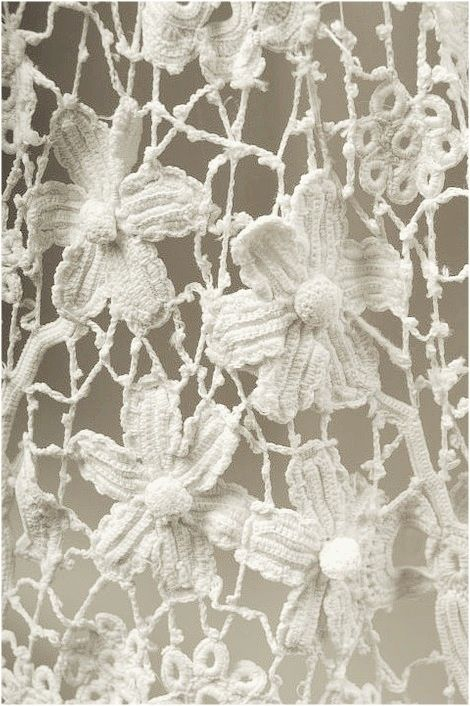 I can see this as curtains in the kitchen of the farmhouse at my family's old homestead.