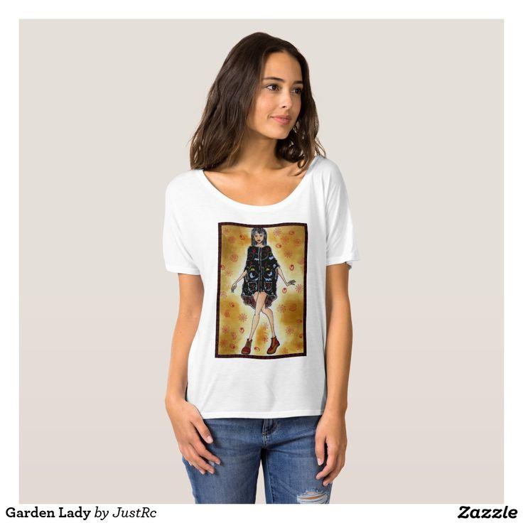 Garden Lady Camisetas