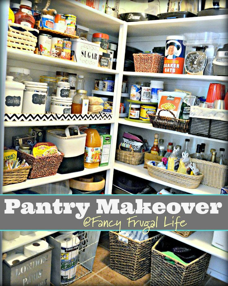 walk in pantry makeover by brilliant store it neatly pantry makeover. Black Bedroom Furniture Sets. Home Design Ideas