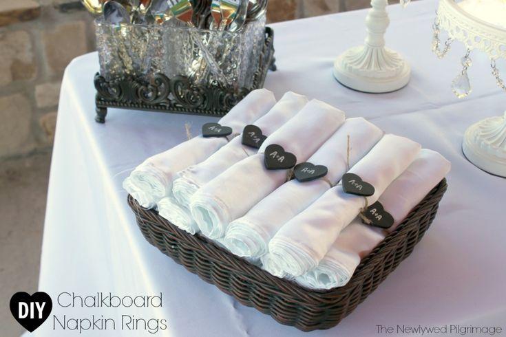 25 Unique Wedding Napkin Rings Ideas On Pinterest