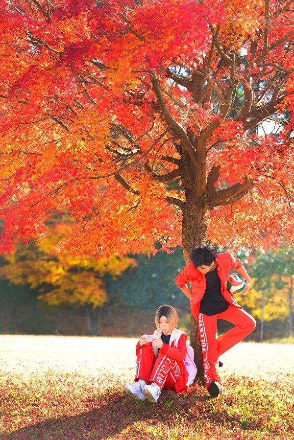 Teturo Kuroo (Haikyuu!!) cosplay by Reika/ Kenma Kozume  (Haikyuu!!) cosplay by cheru