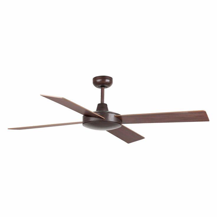 Ventilador de techo marrón sin luz Mallorca 33351 de Faro [33351] - 152,45€ :