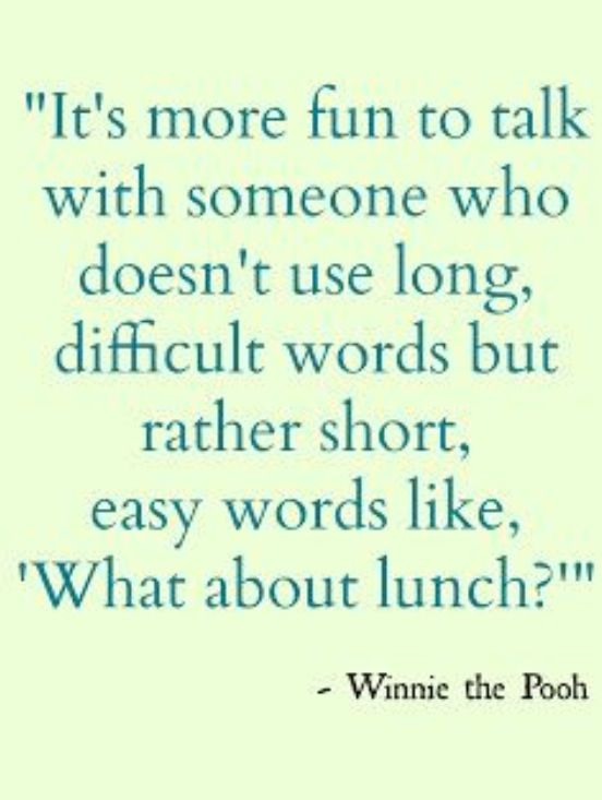 """True, but I like a few bigger worlds mixed in with dropped g's and a good """"how's 'bout lunch,"""" 'stead."""