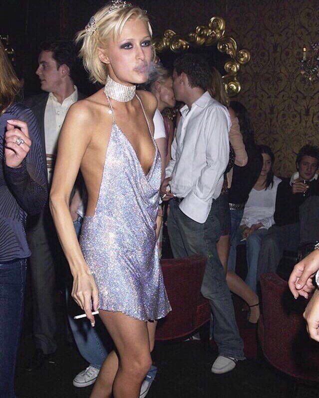 "linsdaylohan: "" Paris Hilton's 21st birthday (2002)    Kendall Jenner's 21st birthday (2016) """