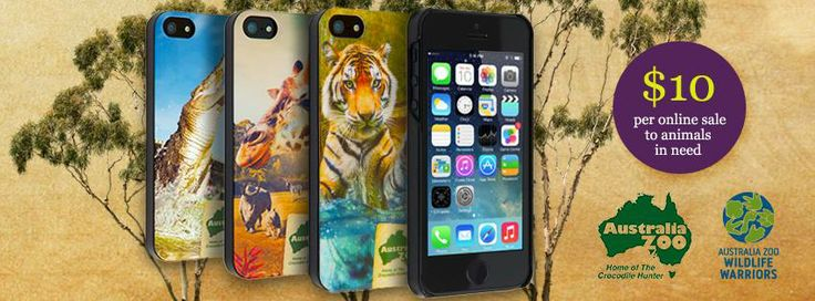 How can you make a difference to Australia's Wildlife?  $10 from every case sold will go straight towards helping animals in need. #AustraliaZoo #WildlifeWarriors #Giraffe #iPhone5 #Case #Sprout @Australia Zoo .