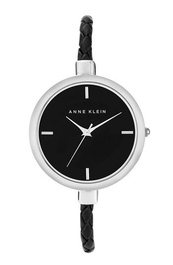 Anne Klein Round Leather Strap Watch available at #Nordstrom