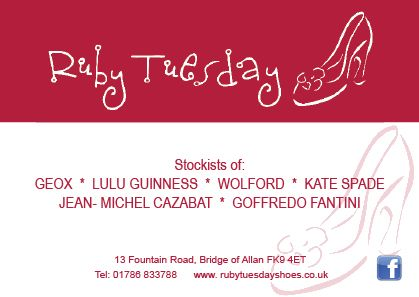 Ruby Tuesday promotional flyers designed and printed for a special event.