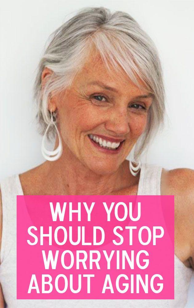 Makeup artist, model & pro-age crusader Cindy Joseph on why she loves getting older.