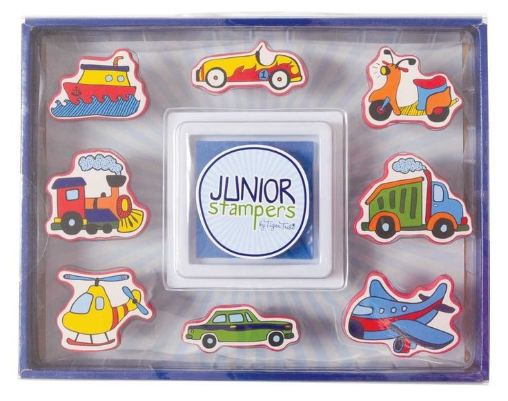 Junior Stampers- Transport #limetreekids