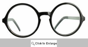 Dean's List Big Round Readers Glasses - 553R Brown