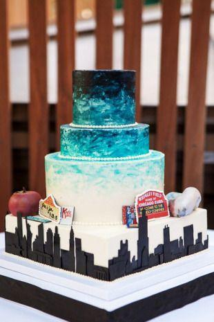 Chicago To Nyc Wedding Cake Photo By Cody Raisig Www Sugarflowercake
