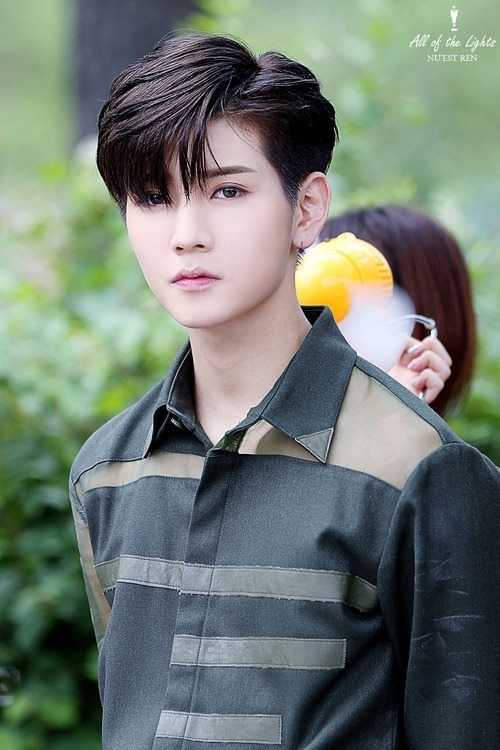 Why is he so pretty with long or short hair?;__; #NUEST #kpop #ren #choiminki