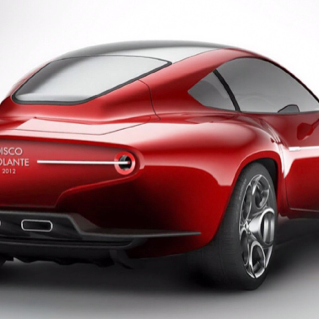 Alfa Romeo And Carrozzeria Touring Superleggera Present The 2012 Disco  Volante (flying Saucer)