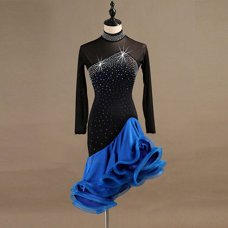 Ebay Sponsored Latin Dance Dress Salsa Tango Cha Cha Ballroom Rhinestone Competition Dress 376 Dance Dresses Competition Dress Salsa Dress