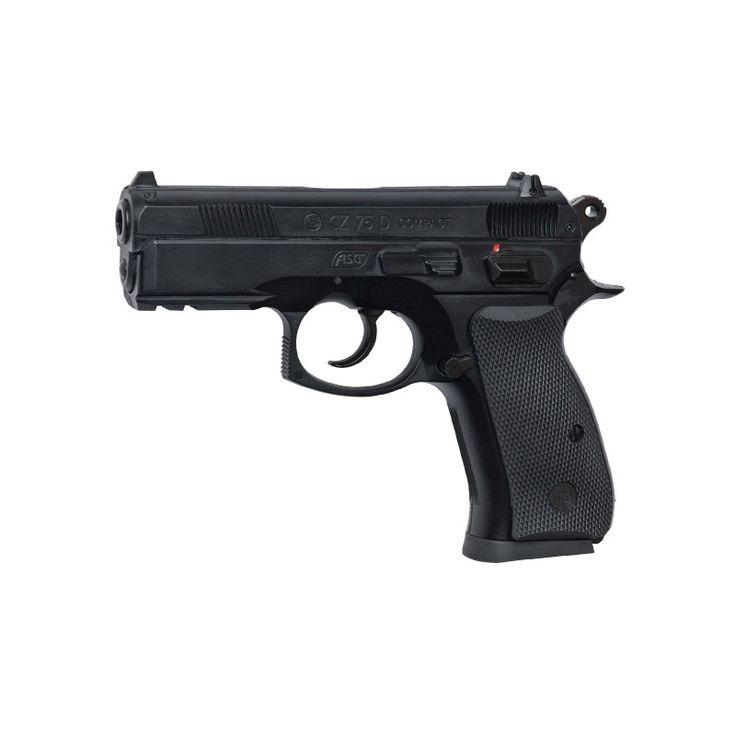 SoftGun Pistol Co2 CZ 75D Compact