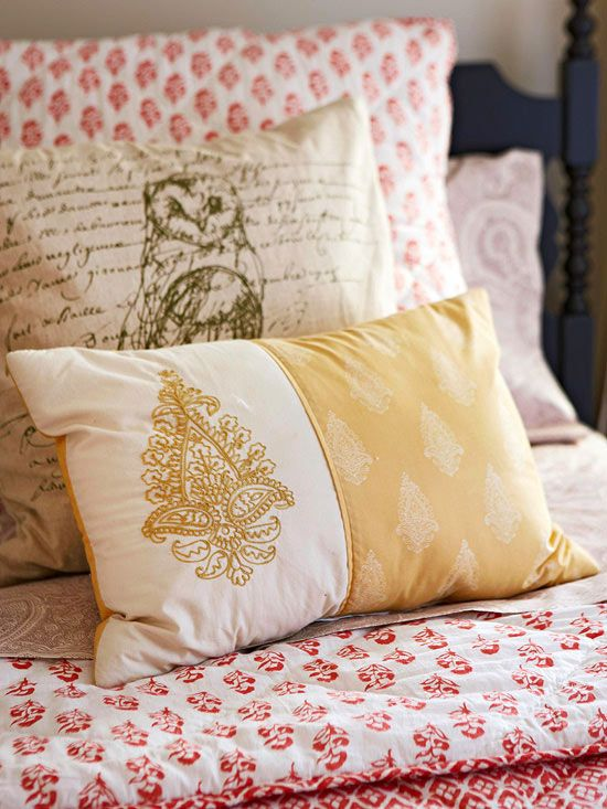 Ripe with global appeal, block prints offer an exotic edge to any room. Textiles and linens that are block printed by hand can get pricey, but the trend is popping up in more mass made goods, making it more affordable to bring the look home.