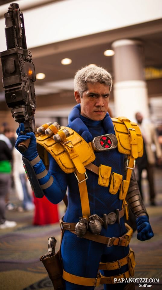 X Men Bishop Cable Awesome Cable cosplay ...