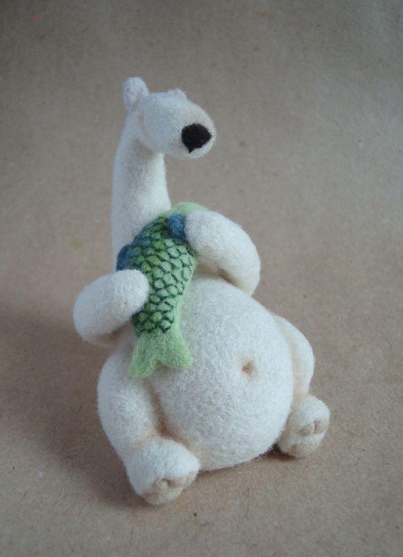 very cute polar bear
