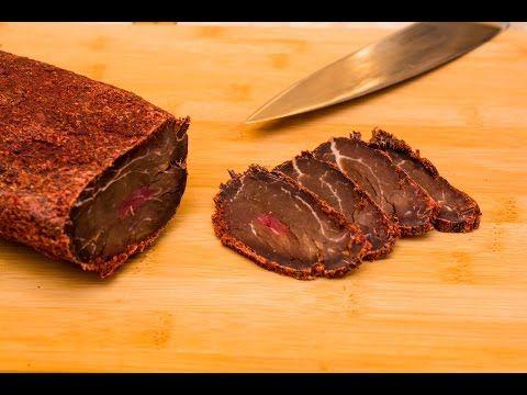 How To Make Basturma (Armenian Cured Meat) - YouTube