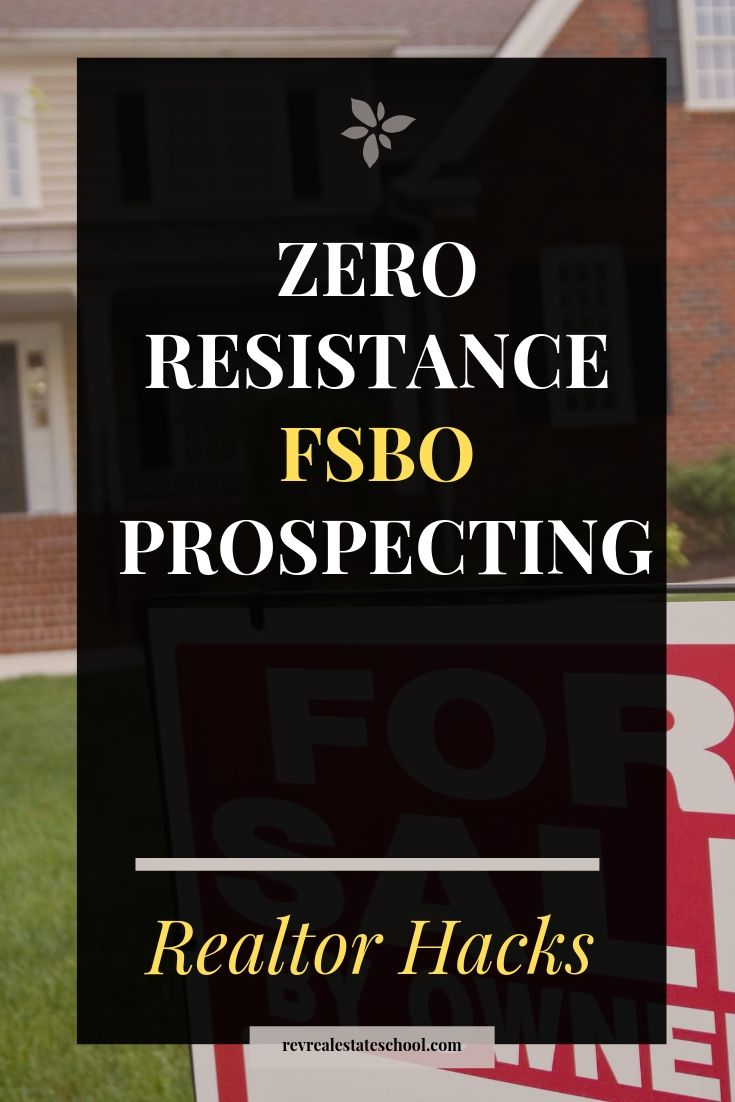 Zero Resistance FSBO Prospecting Scripts and Plan. Top lead generation tips for …