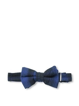 61% OFF Rival Crews Boy's Benny Self Loop Bow Tie (Blue Vintage Plaid)