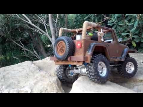 Rc jeep cc01  Ti'Harry adventures