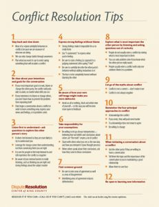 Conflict Resolution Tips - repinned by @PediaStaff – Please Visit  ht.ly/63sNt for all our pediatric therapy pins