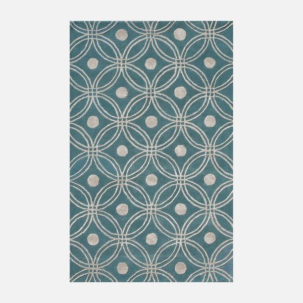 Amber Light Blue rug for living room found on fab.com