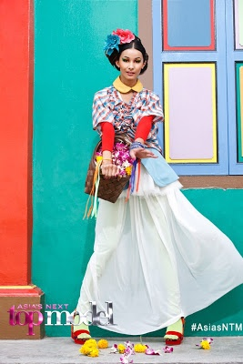 Aastha - Scarlet Bindi - South Asian Fashion: Asia's Next Top Model: Little India