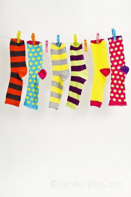 bright stripes & polka dots