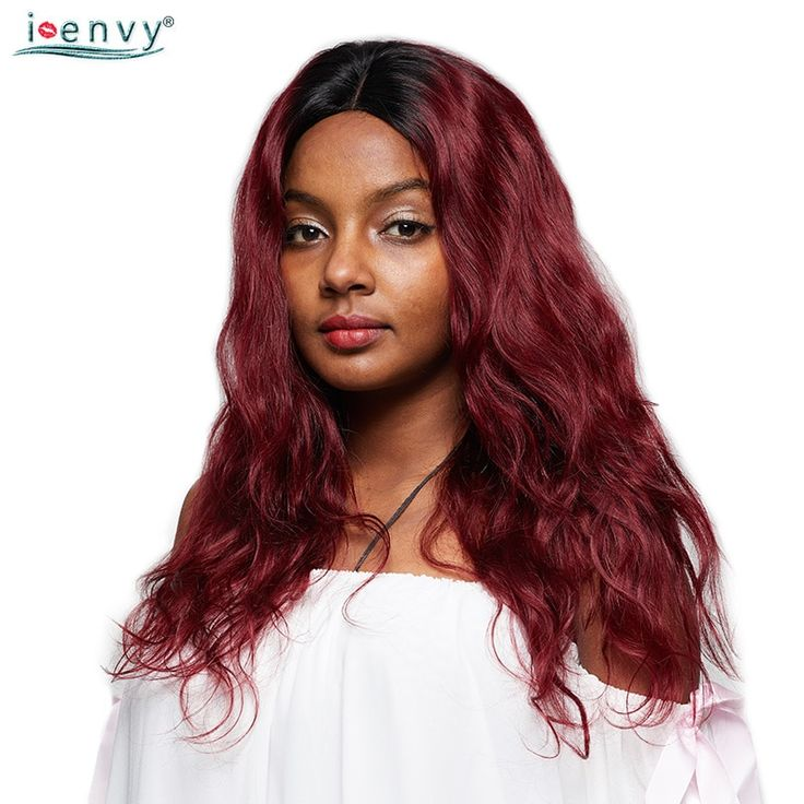 Buy IEnvy Brazilian Ombre Red Lace Front