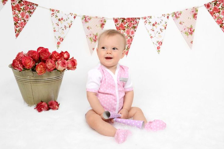 Beautiful Bella rocking the Pink Polkadot Front Opening Body Vest & Pink POlkadot Shoes | Poogy Bear Baby Clothing & Accessories 100% Cotton