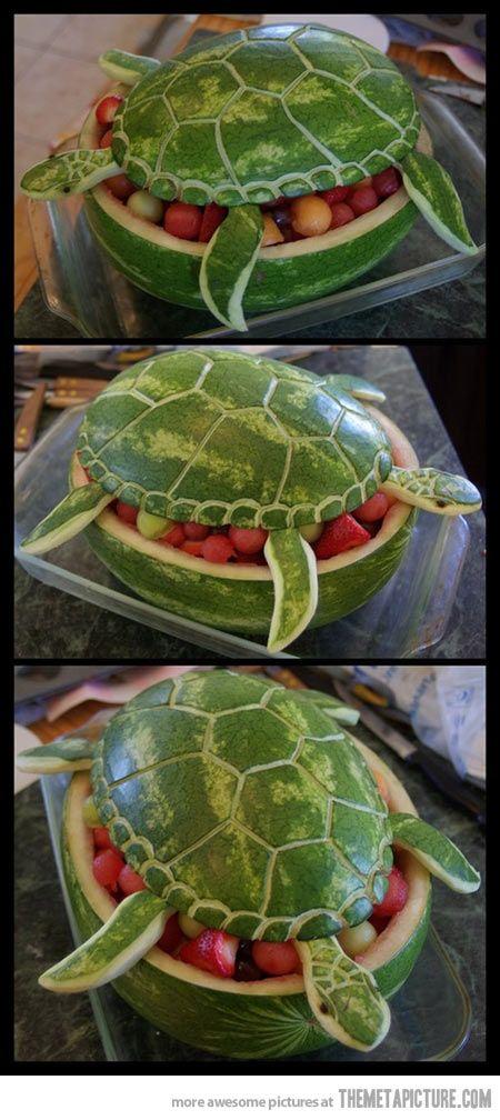 Watermelon Turtle Art